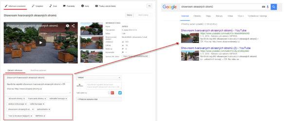 SEO tip - publikujte a popište videa pro Google