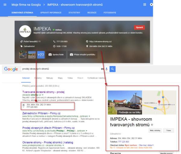 SEO tip - služba Moje firma na Googlu (1)