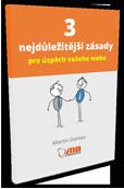 PDF knížka  3 nejdůležitější zásady pro úspěch vašeho webu